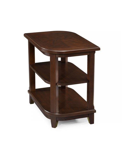 Madera Transitional Merlot Wood Rectangular Accent Table MG-T2820-31