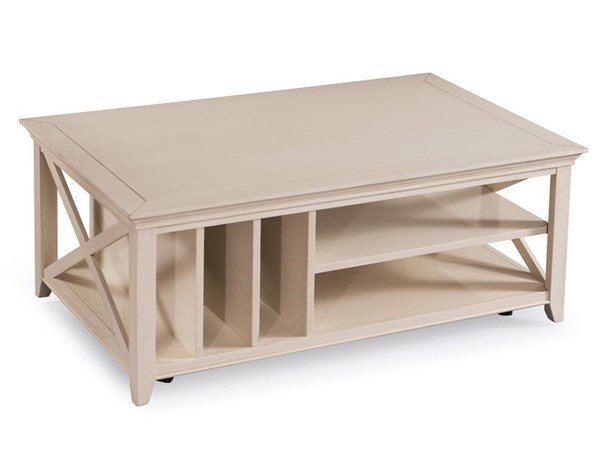 Kittery Alabaster Pewter MDF Wood Casters Rectangular Cocktail Table MG-T3487-43