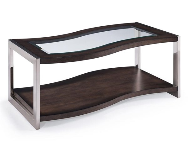 Magnussen Home Lynx Graphite Rectangular Cocktail Table MG-T3729-43
