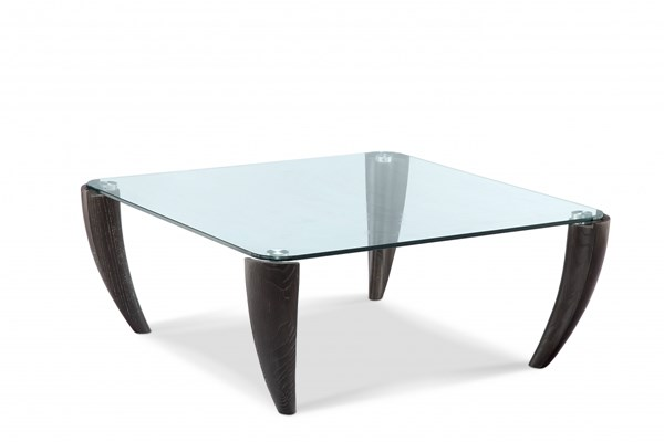 Ebony Modern Midnight Glass Square Cocktail Table Top MG-T3766-41T