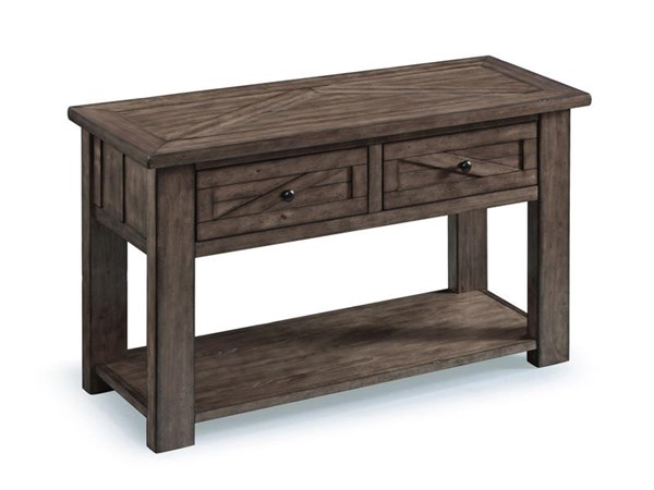 Magnussen Home Garrett Wood Rectangular Sofa Table MG-T3778-73