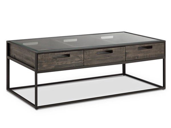 Magnussen Home Claremont Wood Rectangular Cocktail Table MG-T4034-43