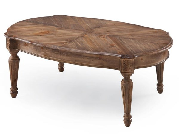 Lloyd Traditional Weathered Oat Wood Rectangular Cocktail Table MG-T4043-43