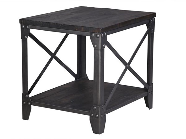 Magnussen Home Milford Wood Rectangular End Table MG-T4044-03