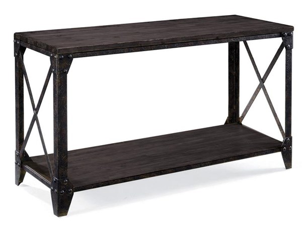 Magnussen Home Milford Wood Rectangular Sofa Table MG-T4044-73