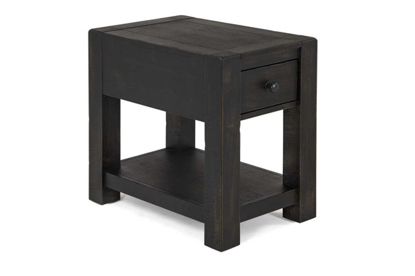 Magnussen Home Easton Dark Chocolate Chairside End Table MG-T4097-10