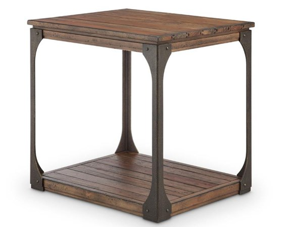 Magnussen Home Montgomery Bourbon Rectangular End Table MG-T4112-03