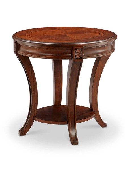 Magnussen Home Winslet Wood Oval End Table MG-T4115-07