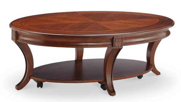 Magnussen Home Winslet Wood Oval Cocktail Table MG-T4115-47