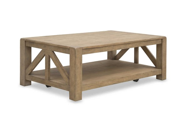 Magnussen Home Griffith Wood Rectangular Cocktail Table MG-T4208-44