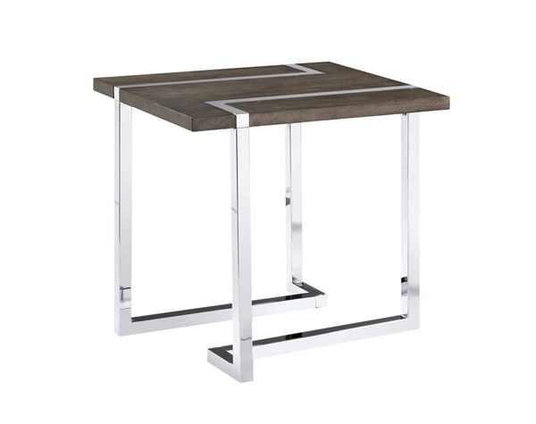 Magnussen Home Kieran Charcoal Rectangular End Table MG-T4215-03