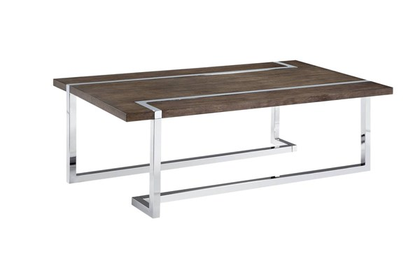 Magnussen Home Kieran Charcoal Rectangular Cocktail Table MG-T4215-43