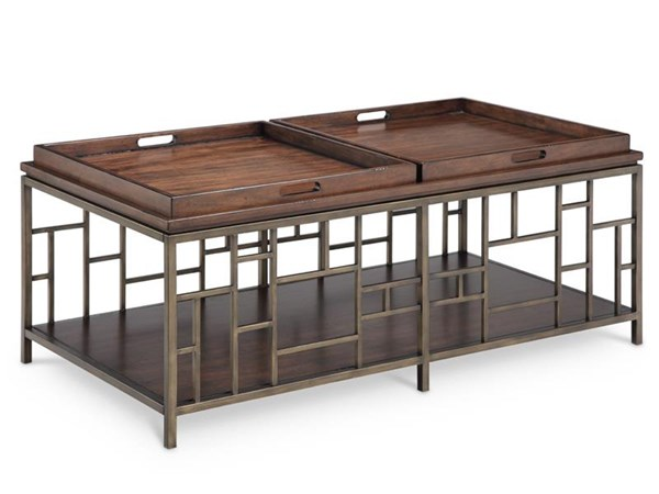 Magnussen Home Murdock Wood Rectangular Cocktail Table MG-T4290-43