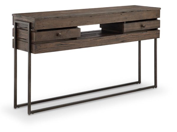 Magnussen Home Kirkwood Wood Rectangular Sofa Table MG-T4291-73
