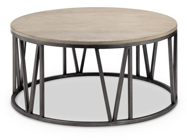 Magnussen Home Avalon Metal Round Cocktail Table MG-T4343-45