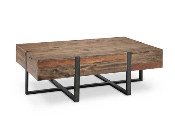 Magnussen Home Prescott Wood Rectangular Cocktail Table MG-T4344-43