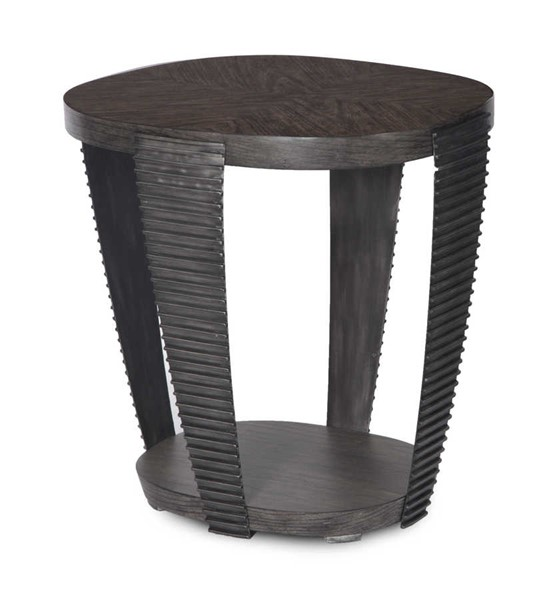 Magnussen Home Kendrick Bitter Chocolate Oval End Table MG-T4396-07