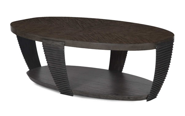 Magnussen Home Kendrick 3pc Coffee Table Set with Oval End Table MG-T4396-OCT-S1