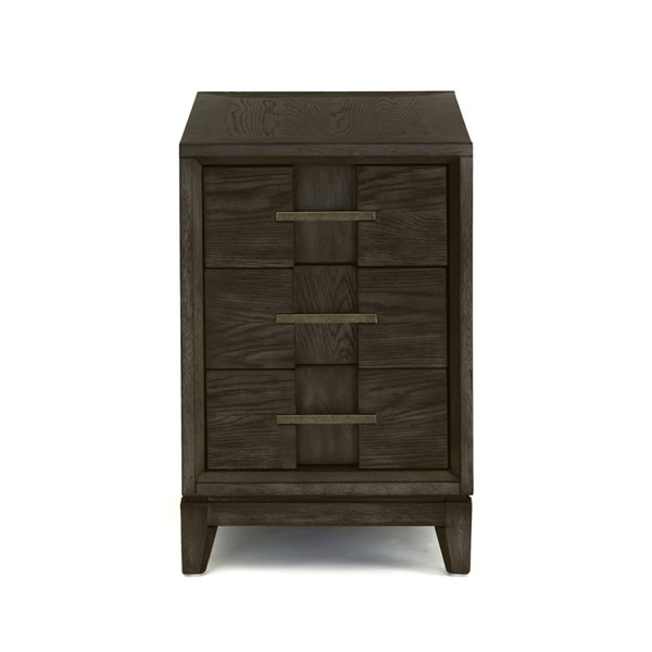 Magnussen Home Proximity Heights Smoked Anthracite Chairside End Table MG-T4450-10
