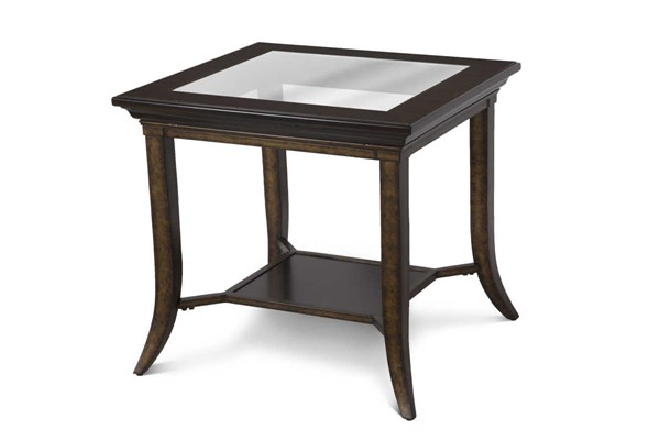 Magnussen Home Parsons Cognac Rectangular End Table MG-T4518-03