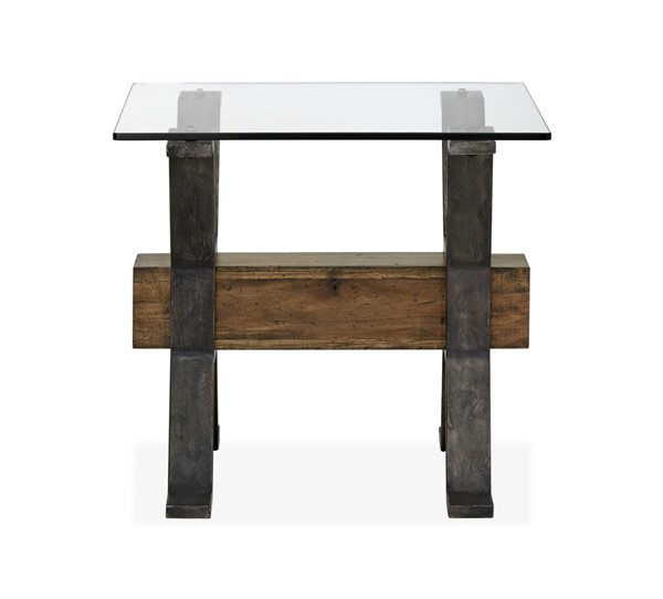 Magnussen Home Sawyer Toasted Nutmeg Rectangular End Table MG-T4570-03