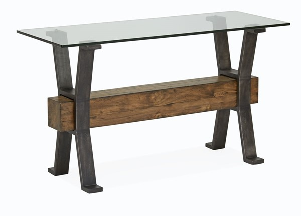 Magnussen Home Sawyer Toasted Nutmeg Rectangular Sofa Table MG-T4570-73