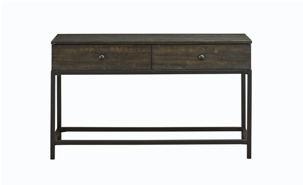Magnussen Home Parker Distressed Whiskey Rectangular Sofa Table MG-T4573-73