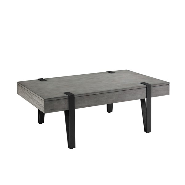 Magnussen Home Mavrick Foundry Grey Rectangular Cocktail Table MG-T4617-43