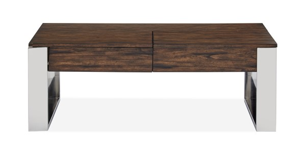 Magnussen Home Duvall Chadwick Mocha Lift Top Storage Cocktail Table MG-T4722-50