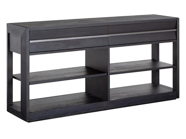 Magnussen Home Wentworth Village Sandblasted Oxford Black Console Sofa Table MG-T4995-86