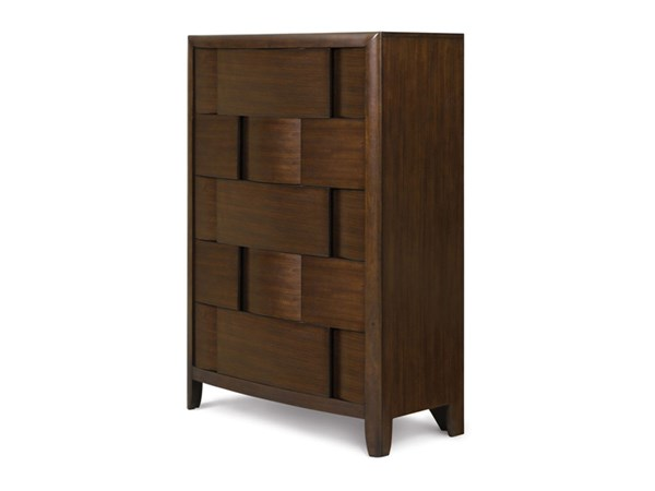Twilight Casual Chestnut Wood Drawer Chest MG-Y1876-10