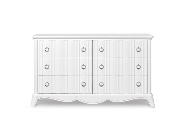 Gabrielle Traditional Snow White Wood Drawer Dresser MG-Y2194-20