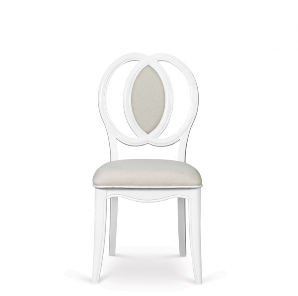 Gabrielle Traditional Snow White Wood Desk Chair MG-Y2194-85