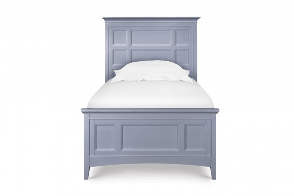 Graylyn Casual Grey Solid Wood Full Panel Bed MG-Y3572-64