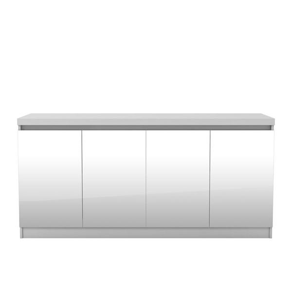 Manhattan Comfort Viennese 2.0 White Sideboard Buffet Cabinet MHC-103652