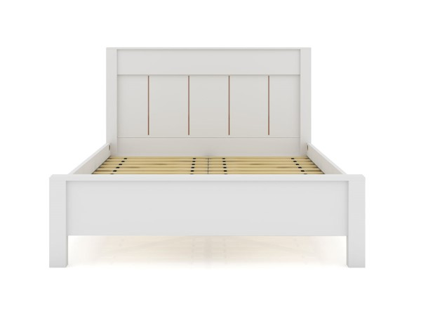 Manhattan Comfort Gramercy Queen size Bedframe with Headboards MHC-106GMC-HDBD-VAR