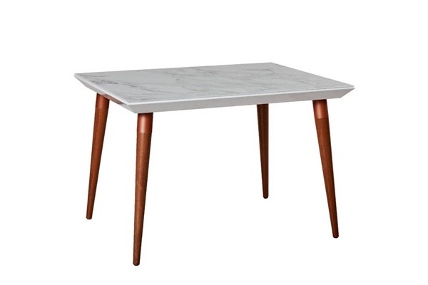 Manhattan Comfort Utopia Marble 47.24 Inch Dining Tables MHC-10875-DT-VAR