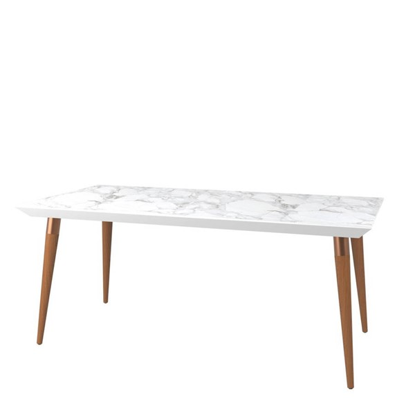 Manhattan Comfort Utopia Marble 70.86 Inch Dining Tables MHC-10895-DT-VAR