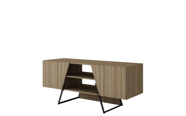 Manhattan Comfort Ellis Melamine 4 Shelves TV Stand MHC-120AMC152