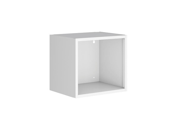 Manhattan Comfort Smart White Floating Cube Display Shelf MHC-13GMC1