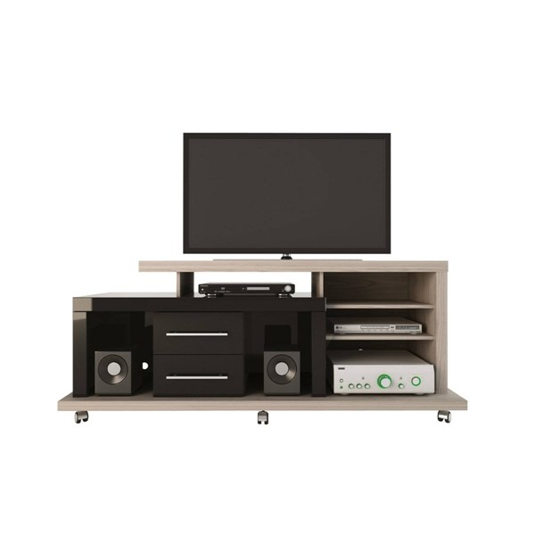 Empire Modern MDF 6 Shelf & 2 Drawers TV Stands MHC-144-TV-VAR