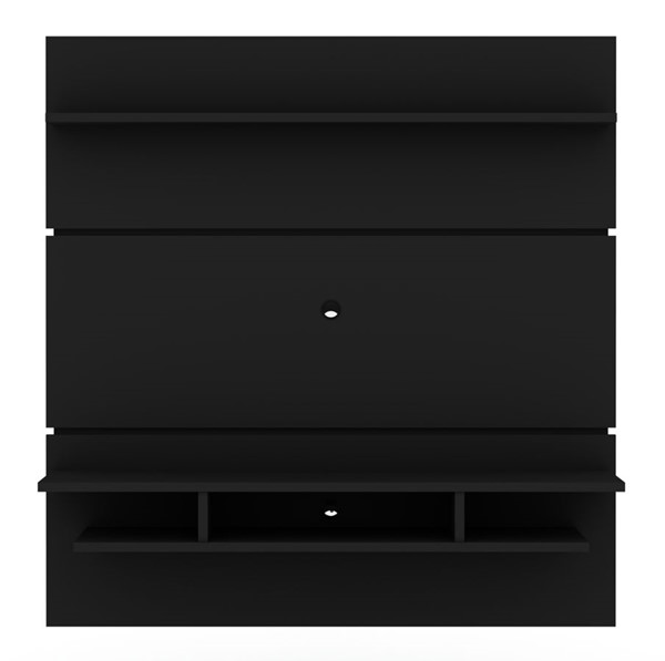 Manhattan Comfort Tribeca Black 62.99 Inch Floating Entertainment Center MHC-1PMC70