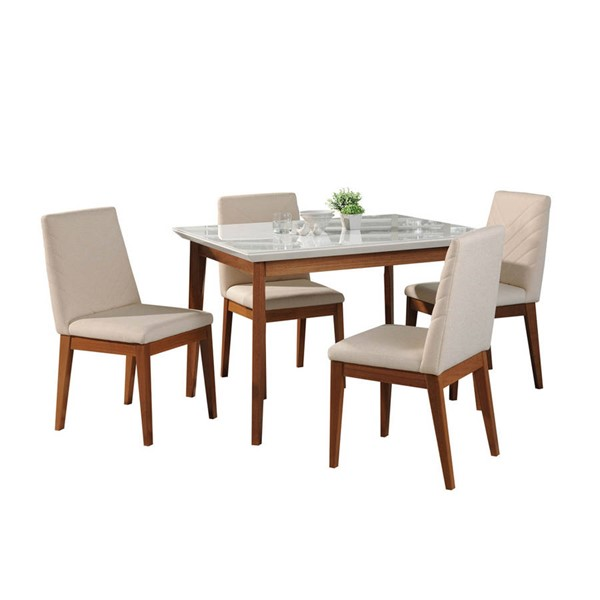 Manhattan Comfort Lillian Catherine 5pc Dining Sets MHC-2-101185110905-DR-S-VAR