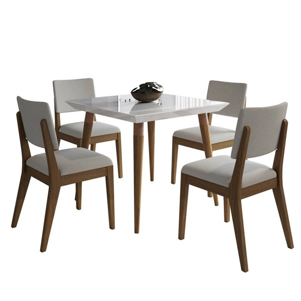 Manhattan Comfort Utopia Dover 35.43 Inch 5pc Dining Sets MHC-2-10725110935-DR-S-VAR