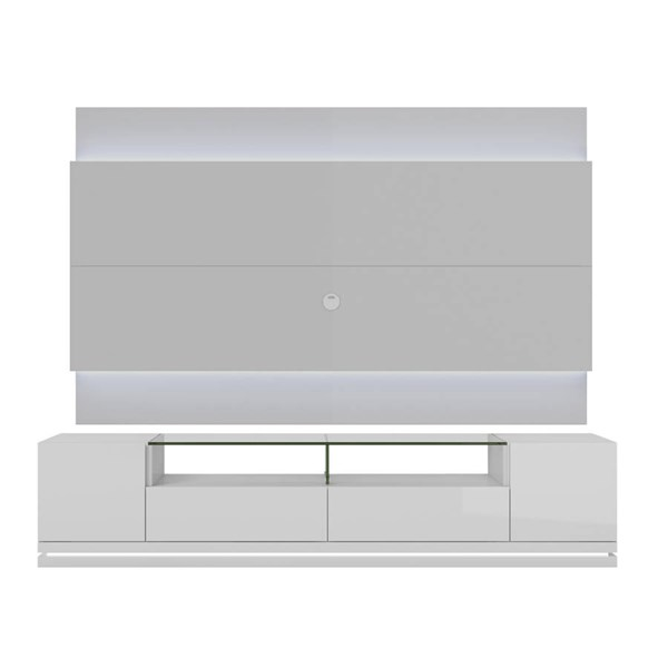 Manhattan Comfort Vanderbilt Lincoln 2.2 TV Stand and Wall Panel MHC-2-1755-8405-ENT-VAR