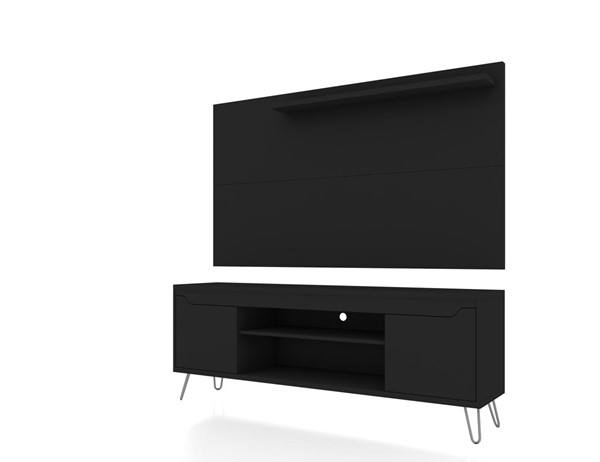 Manhattan Comfort Baxter and Liberty MDF 62.99 Inch TV Stand and Panels MHC-221-217BMC-ENT-VAR