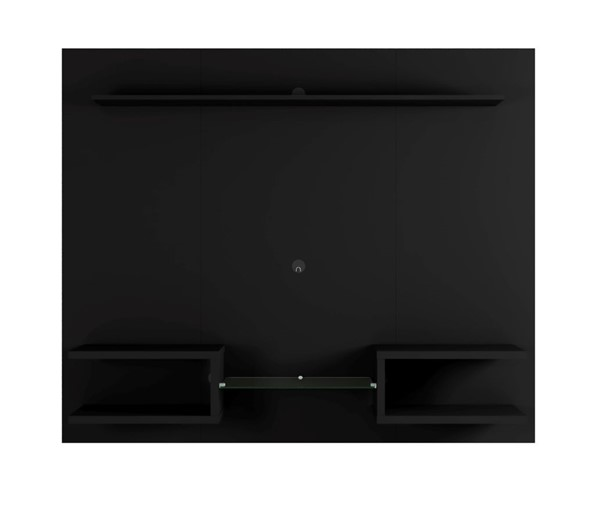 Manhattan Comfort Plaza Black 64.25 Inch Floating Wall Entertainment Center MHC-224BMC8