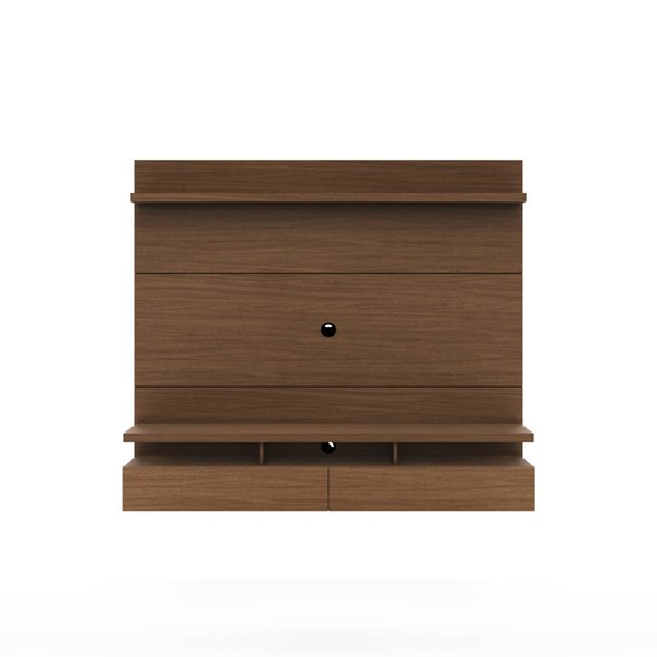 Manhattan Comfort City 1.8 Nut Brown Entertainment Center MHC-25151