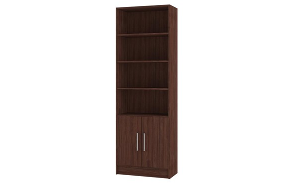 Manhattan Comfort Catarina Nut Brown 6 Shelves Cabinet MHC-29AMC164