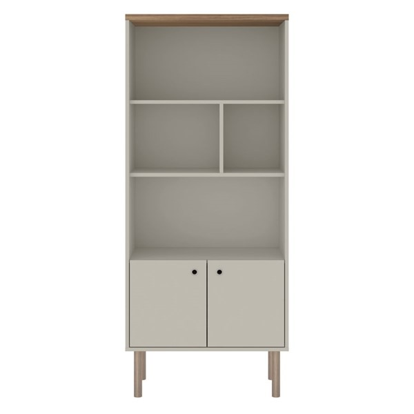 Manhattan Comfort Windsor MDF Bookcases MHC-2LC-BK-VAR